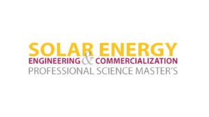 Solar Energy Engineering and commercialization PSM