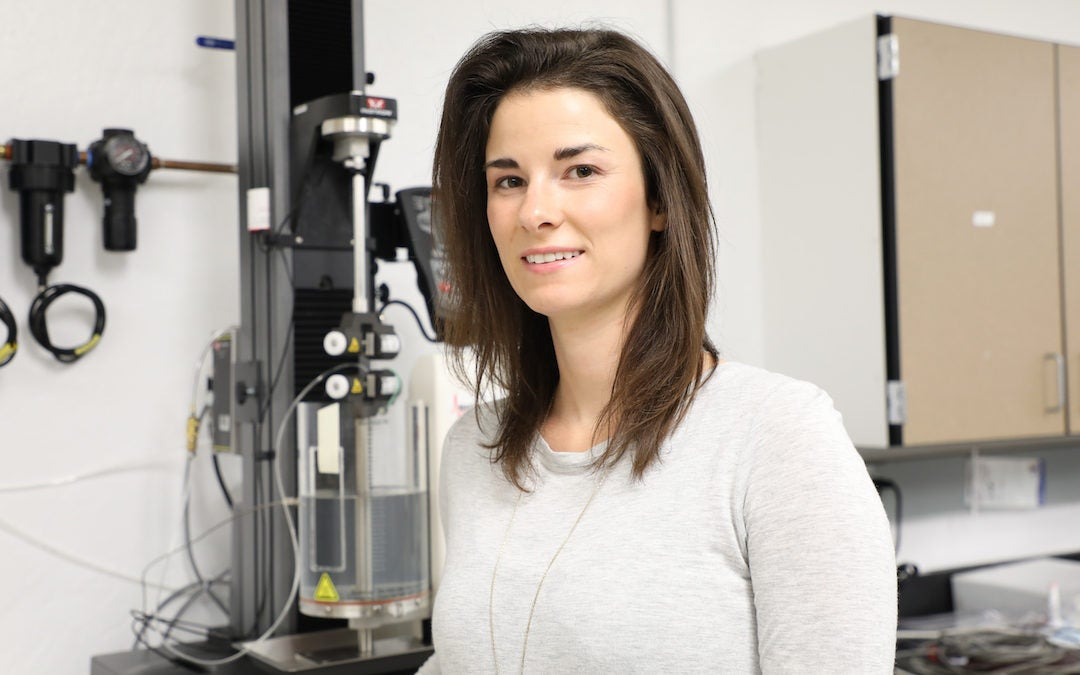 Chemical engineer honored for celebrating women in the field